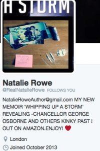 Rowe Twitter